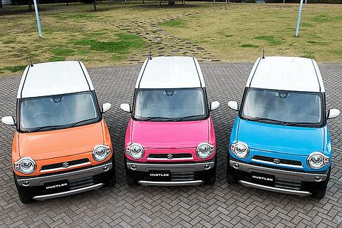 ハスラーのカラー3種類