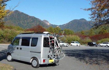 自転車の 自転車 キャリア 背面 自作 : 屋根には超電流ソーラー充電 ...